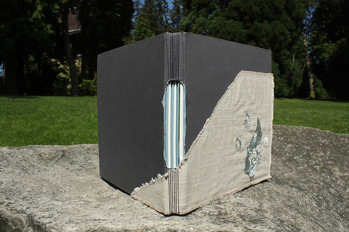 grey book back view