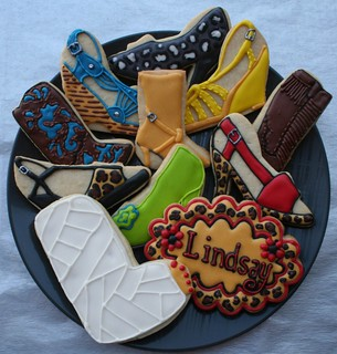 High Heel Cookie Platter