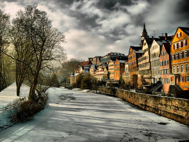 Tübingen Neckarfront HDR