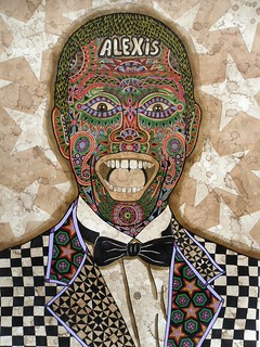 "PORTRAIT OF FAMOUS CUBAN COMEDIAM AND ACTOR ""ALEXIS VALDES"""
