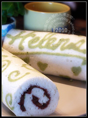 Angel Cake Roll (with Red Bean filling)