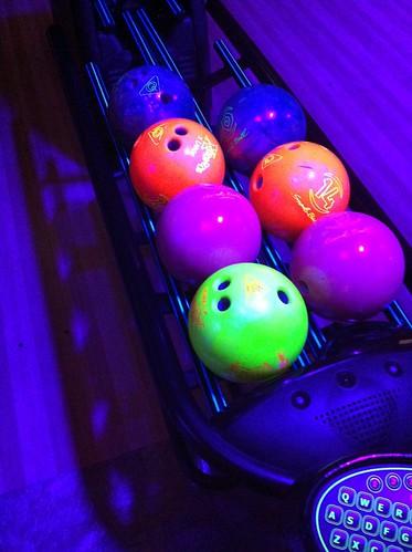 Cosmic Bowling
