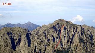 Voie des bergers au Lavu a u Ceppu (photo Victor Gomis)