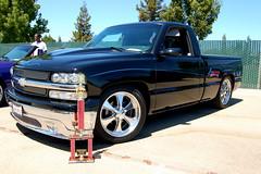 dodge ram srt-10(0.0), chevrolet(1.0), automobile(1.0), automotive exterior(1.0), commercial vehicle(1.0), pickup truck(1.0), wheel(1.0), vehicle(1.0), truck(1.0), chevrolet silverado(1.0), bumper(1.0), land vehicle(1.0),
