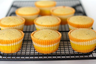 MSC: Triple Citrus Cupcakes