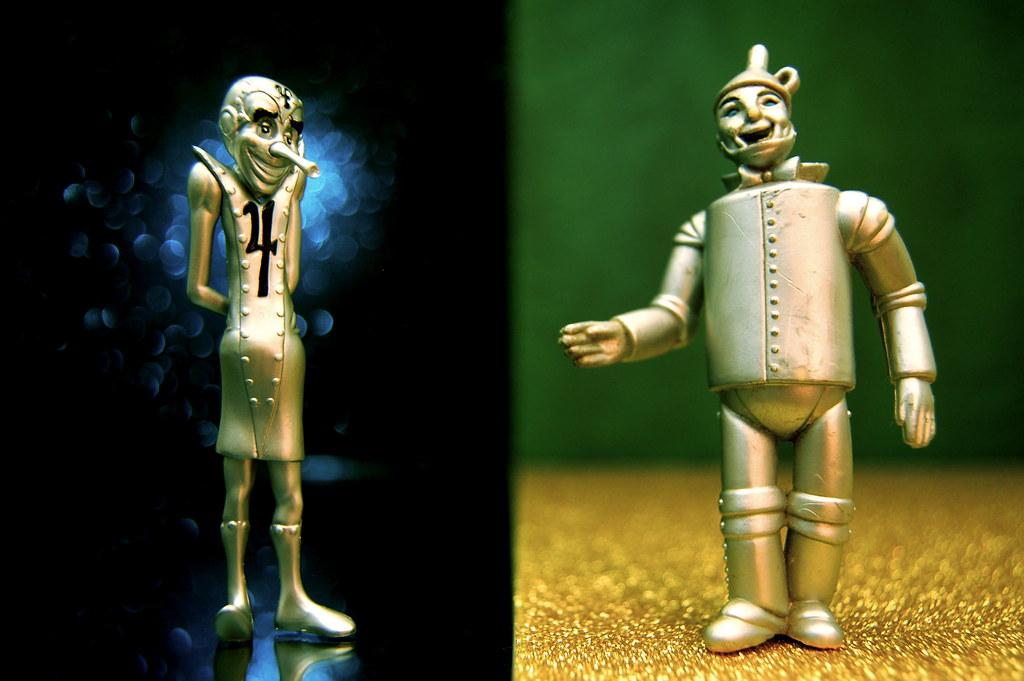 Tin vs. Tin Man (227/365)