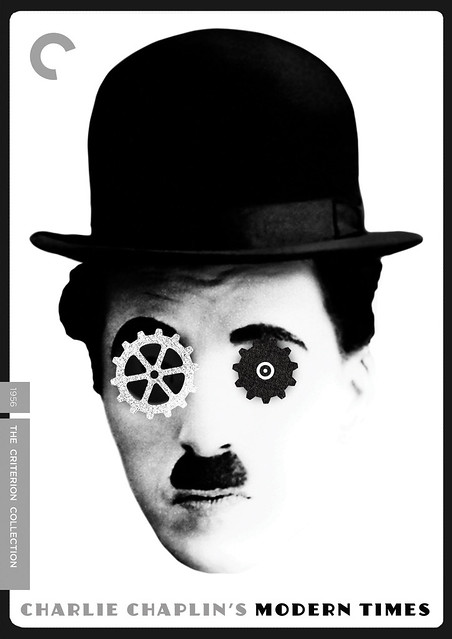 MODERN TIMES - Criterion DVD cover