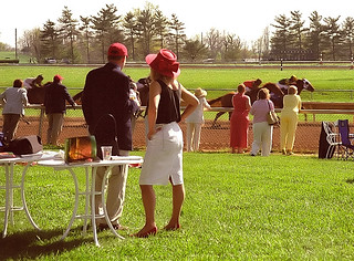 "Lexington Kentucky - Keeneland Race Track ""A Day At The Races"""