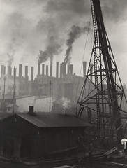 Power Station at Sydney Harbour, 1930, by E.O. Hoppe