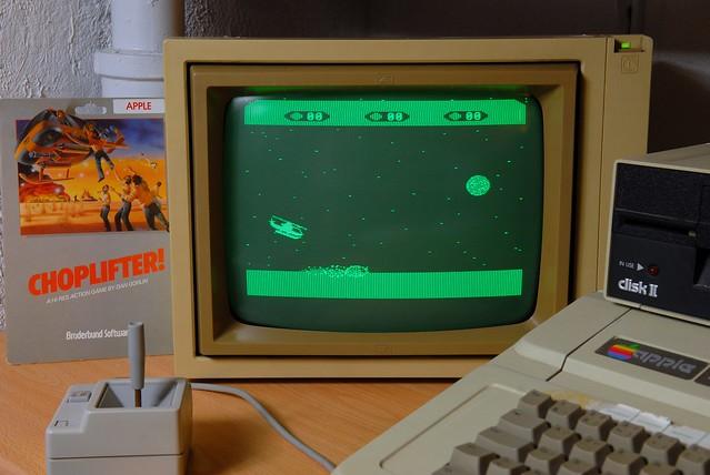 Game Apple II / Choplifter (1982)