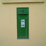 Green Postbox - Dalkey (ER VII - King Edward VII)