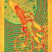 Bike Wolf by Rob Mack Art
