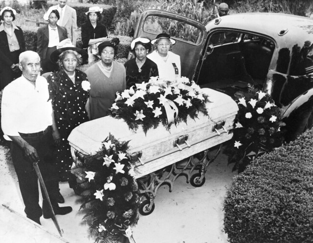 African american funeral 1950s flickr photo sharing