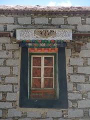 fenêtre tibétaine à Yongbulakang