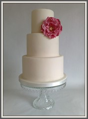 """Michelle"" Wedding Cake"