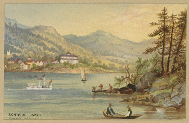 Twelve Adirondack Sketches Schroon Lake Flickr Photo