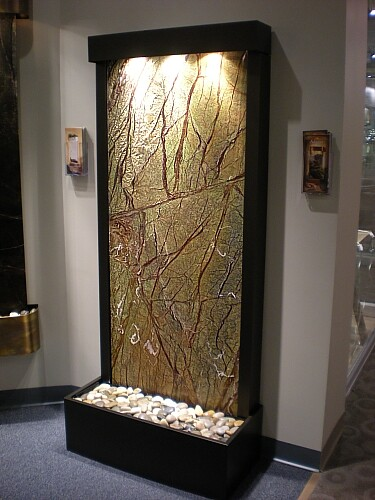 indoor waterfall water feature fountain features waterfalls fountains flickr photo. Black Bedroom Furniture Sets. Home Design Ideas