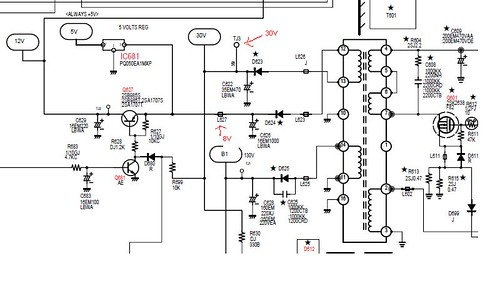 sanyo tv circuit diagram wiring online. Black Bedroom Furniture Sets. Home Design Ideas