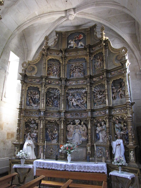 Iglesia de San Benito - Retablo procedente iglesia de Santiago