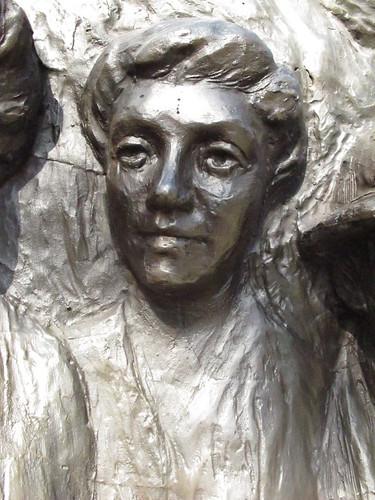 Ada Wells - Kate Sheppard Memorial