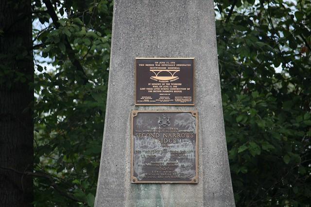 Ironworkers Memorial Bridge Commemorative Plaque