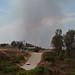 Fire Near Ramona, CA