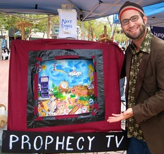Presenting the Prophecy TV at the Arts Market San Francisco