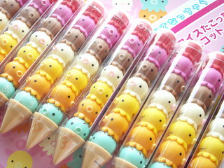Kawaii Cute Ice Cream Takochu Set Japanese Small Toy Collection
