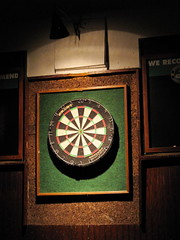 Dart Board at 1020