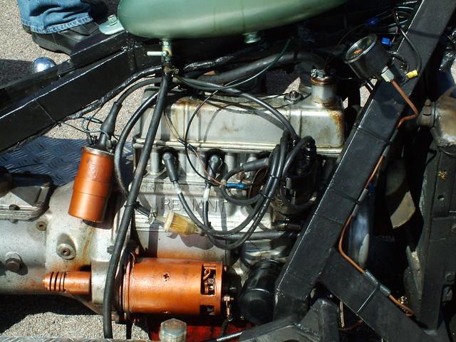 Reliant Trike Engine