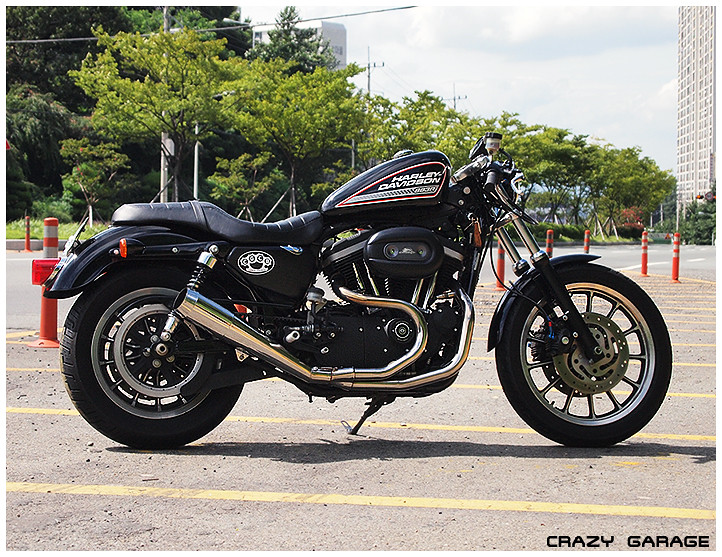 Crazy Garage Cafe Racer