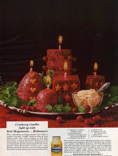 hellman's cranberry candles