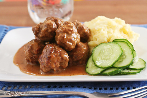 Swedish Meatballs, revised
