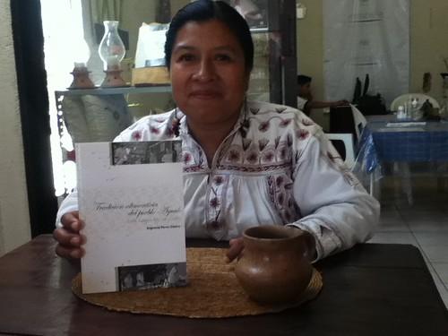 Engracia Perez Castro, author of Tradición Alimenticia del Pueblo Ayuuk