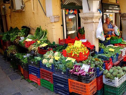 Market in Corfu