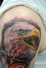 Eagle Tattoo Tattooed by Ray