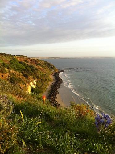 ocean sunrise portland coast vic