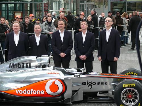 McLaren-Techniker