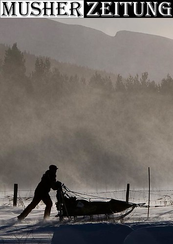 HD-335-Nina-Skramstad-Grimsbu, Femundlopet sled dog racing photography by helmut dietz, germany