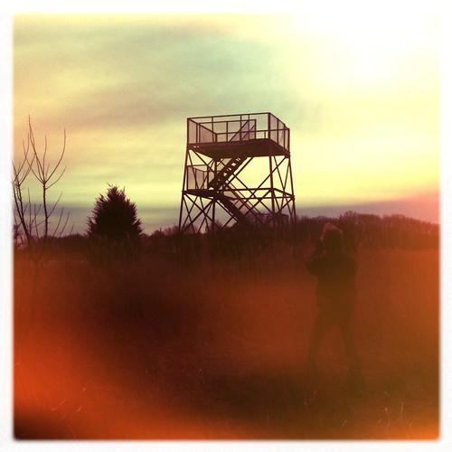 sunset tower nature twilight photographer wildlife melanie sunny iphone hipstamatic