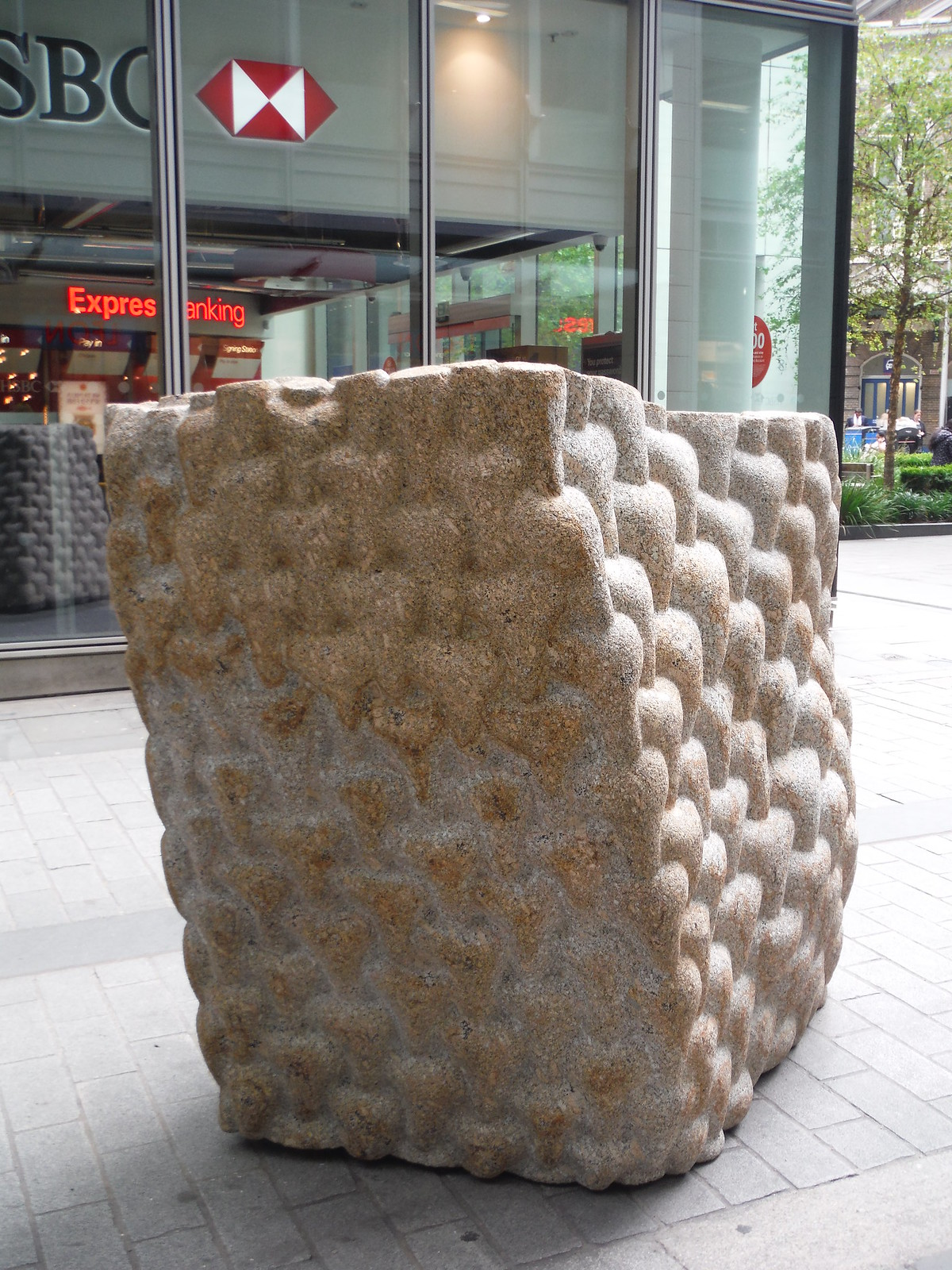 Peter Randall-Page - Envelope of Pulsation (for Leo) SWC Walk Short 24 - Sculpture in the City