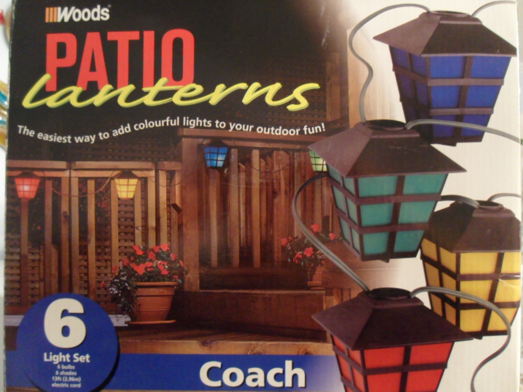 Coach Patio Lanterns