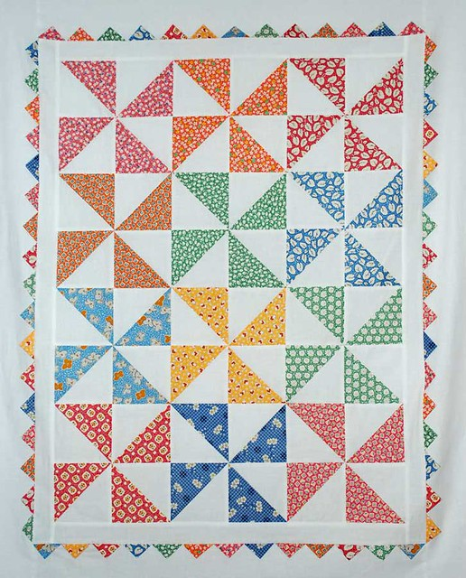 Baby Pinwheel Quilt Flickr Photo Sharing