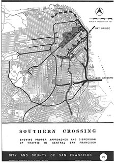 Southern Crossing Showing Proper Approaches and Dispersion of Traffic in Central San Francisco (1949)