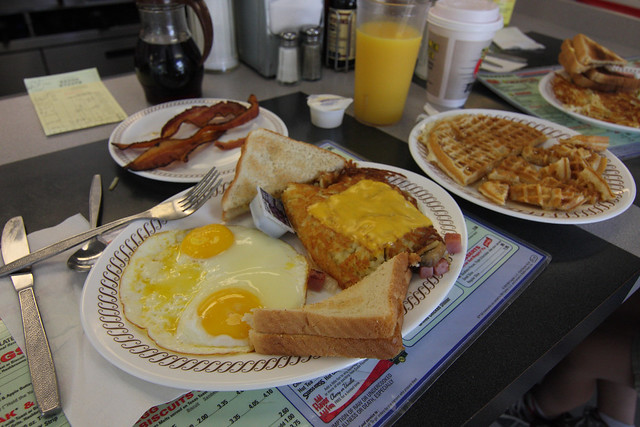 Waffle House Food Truck Greenville Sc