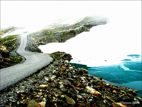 >>>Adventure Road>>>&#8221;>    </p> <p><i>&#8230;as the spectacular mountain road winds higher and higher the last birch trees are left behind and you enter a land of ice and snow. </i></p> <p>Folgefonna is a collective term for three glaciers in Hardanger (Norway).</p> <p>Here we been going in the <a href=