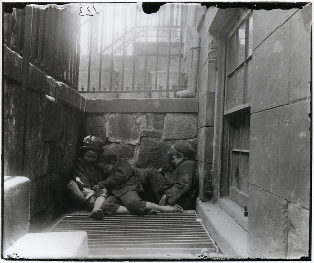 Street Arabs, Lower East Side, New York, by Jacob August Riis, 1889