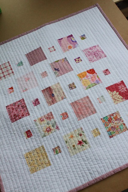 Pink Quilt - finished