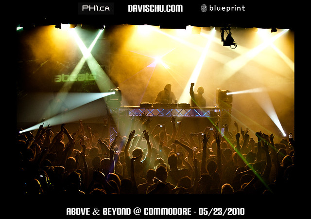 Above & Beyond @ Commodore, Vancouver BC - 05/23/2010