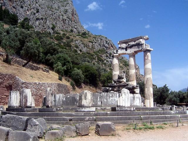 Tholos of Athena Pronaia, Delphi